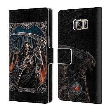Official Anne Stokes Tribal Final Verdict Leather Book Wallet Case Cover For Samsung Galaxy S6 Edge+ / Plus
