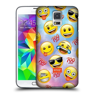 Official Emoji Smileys Happy Hard Back Case For Samsung Galaxy S5 / S5 Neo