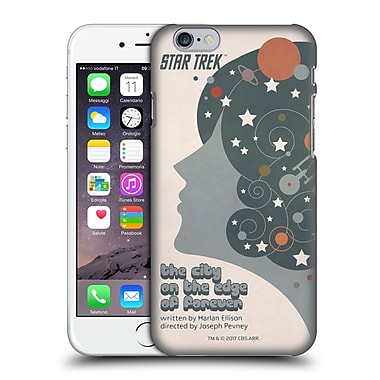 Official Star Trek Juan Ortiz Posters Tos The City On The Edge Of Forever Hard Back Case For Apple Iphone 6 / 6S