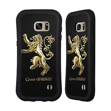 Official HBO Game Of Thrones Sigils Gold Lannister Hybrid Case For Samsung Galaxy S7 Edge