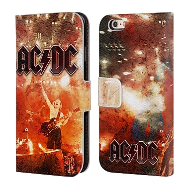 Official AC/DC Acdc Album Art Live At River Plate Leather Book Wallet Case Cover For Apple Iphone 6 / 6S