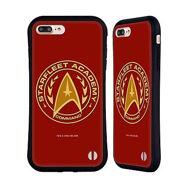 Official Star Trek Starfleet Academy Logos Command Hybrid Case For Apple Iphone 7 Plus / 8 Plus