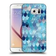Official Monika Strigel Happy Mermaid Aqua Blue Hard Back Case For Samsung Galaxy S6