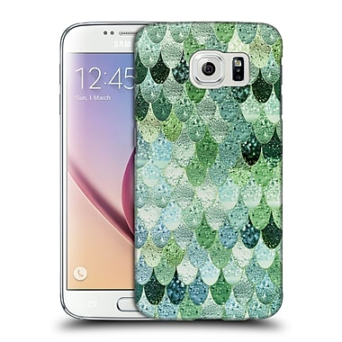 Official Monika Strigel Happy Mermaid Green And Mint Hard Back Case For Samsung Galaxy S6