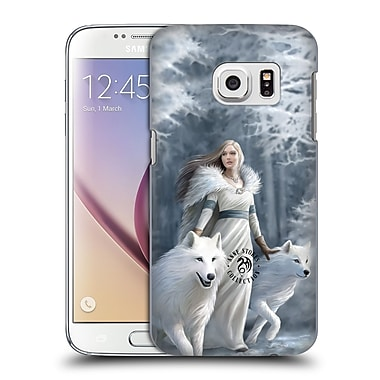 Official Anne Stokes Wolves Winter Guardians Hard Back Case For Samsung Galaxy S7