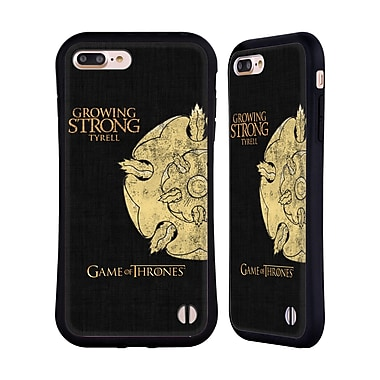 Official HBO Game Of Thrones House Mottos Tyrell Hybrid Case For Apple Iphone 7 Plus / 8 Plus