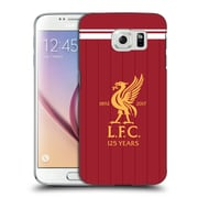 Official Liverpool Football Club Kit 2017/18 Liver Bird Home Shirt Hard Back Case For Samsung Galaxy S6