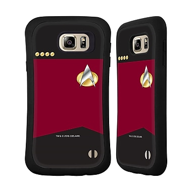 Official Star Trek Uniforms And Badges Tng Captain Hybrid Case For Samsung Galaxy Note5 / Note 5