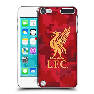 Official Liverpool Football Club Digital Camouflage Home Red Hard Back Case For Ipod Touch 5th Gen / 6th Gen