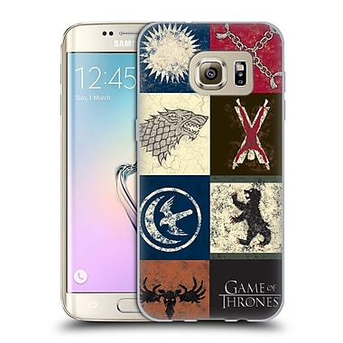 Official HBO Game Of Thrones Battle Of The Bastards House Sigils Soft Gel Case For Samsung Galaxy S7 Edge