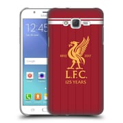 Official Liverpool Football Club Kit 2017/18 Liver Bird Home Shirt Hard Back Case For Samsung Galaxy J7