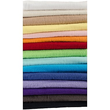 Greatex Mills Aqua Blue Basic Solid Flannel Fabric 42
