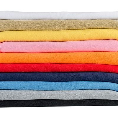 Greatex Mills Black Anti Pill Warm Fleece Fabric 58