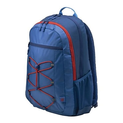 HP Active Marine Blue/Coral Red Fabric Backpack (1MR61AA)