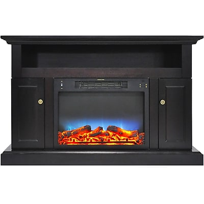 Cambridge Sorrento Electric Fireplace with Multi-Color LED Insert and 47