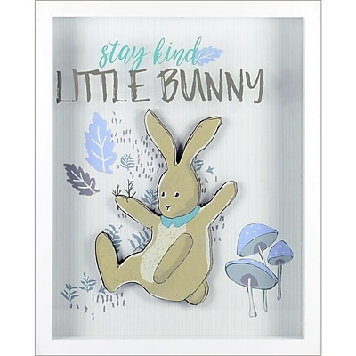 Linden Avenue Wall Art Stay Kind Little Bunny 12
