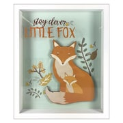 """Linden Avenue Wall Art stay clever little fox 8"""" x 10"""" (AVE10019)"""