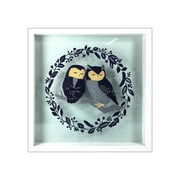 """Linden Avenue Wall Art OWLS ON BRANCH 8"""" x 10"""" (AVE10020)"""