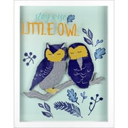 """Linden Avenue Wall Art Stay Wise Little Owl 12"""" x 12"""" (AVE10028)"""