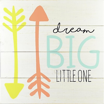 Linden Avenue Wall Art Dream Big Little One 12