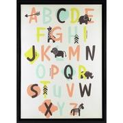 """Linden Avenue Wall Art Alphabet 12"""" x 12"""" (AVE10080)"""