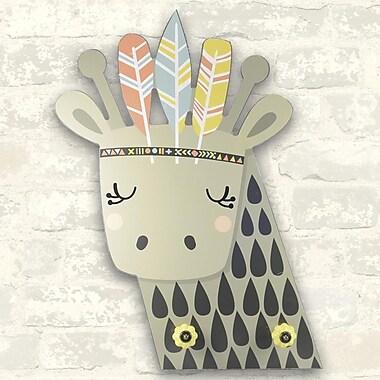Linden Avenue Wall Art Giraffe Knobs 12