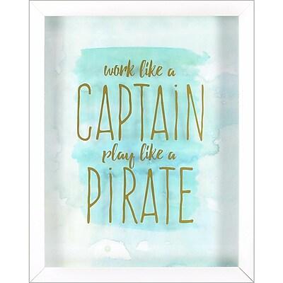 Linden Avenue Wall Art Captain Pirate 12