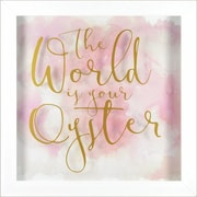 """Linden Avenue Wall Art The World Is Your Oyster 11"""" x 14"""" (AVE10118)"""