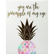 """Linden Avenue Wall Art You Are The Pineapple of My Eye 8"""" x 10"""" (AVE10120)"""