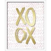 "Linden Avenue Wall Art XOXO BRUSH STROKES 16"" x 20"" (AVE10293)"