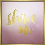 """Linden Avenue Wall Art SHINE ON 24"""" x 24"""" (AVE10305)"""