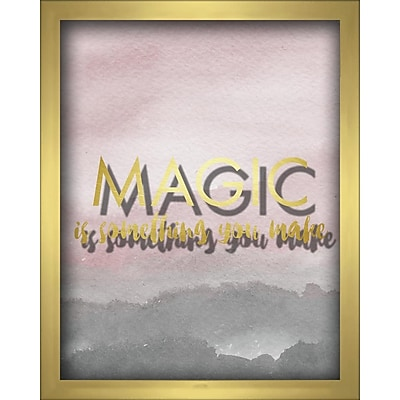 Linden Avenue Wall Art MAGIC IS SOMETHING YOU MAKE-BLUSH 8