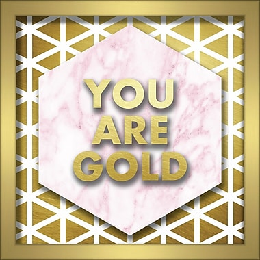 Linden Avenue Wall Art YOU ARE GOLD 10