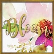 """Linden Avenue Wall Art BLOOM WATERCOLOR PEONY 16"""" x 16"""" (AVE10391)"""