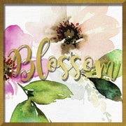 """Linden Avenue Wall Art BLOSSOM WATERCOLOR PEONY 16"""" x 16"""" (AVE10392)"""