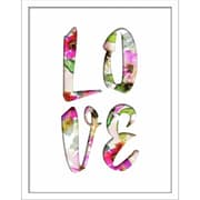 """Linden Avenue Wall Art LOVE FILLED WORD 11"""" x 14"""" (AVE10397)"""