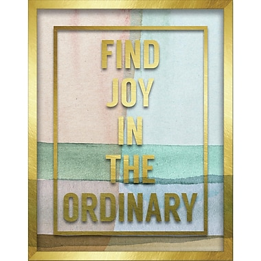 Linden Avenue Wall Art FIND JOY IN THE ORDINARY 11
