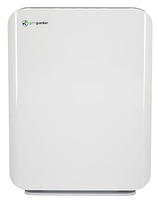 GermGuardian Mid-Size Console Air Purifier with True HEPA Filter, White (AC5900WCA) 24226573