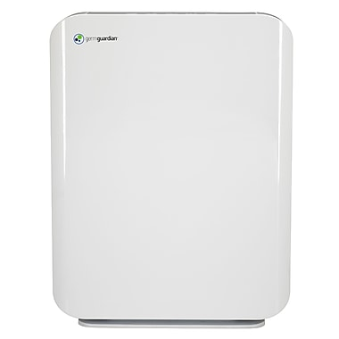 GermGuardian Mid-Size Console Air Purifier with True HEPA Filter, White (AC5900WCA)
