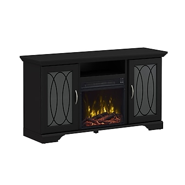 ClassicFlame Winfield TV Stand with Electric Fireplace, Black (18MM30460-PB01S)