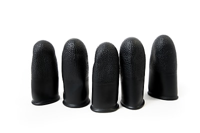 Bertech Static Dissipative Finger Cots, Powder Free, Medium (FC-B16-M)