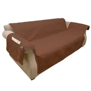 """PETMAKER Waterproof 111""""W x 76""""D Couch Protector Brown (M320127)"""