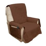 """PETMAKER Waterproof 78""""W x 73""""D Chair Protector Brown (M320125)"""