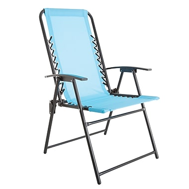Pure Garden Suspension Folding Chair Blue (M150119)