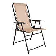 Pure Garden Suspension Folding Chair Beige (M150118)