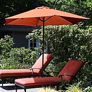 Pure Garden 9' Patio Umbrella Terracotta (M150067)