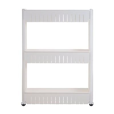 Everyday Home Rolling Storage Cart White (M050011)