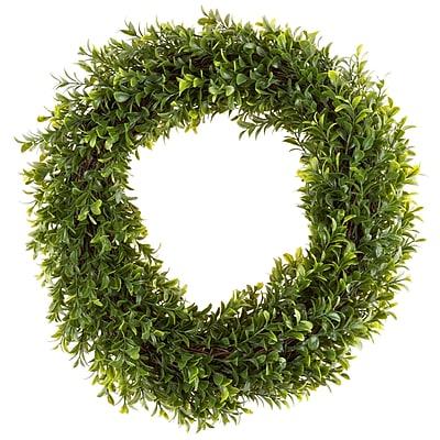 Pure Garden Artificial Hedyotis Wreath 15