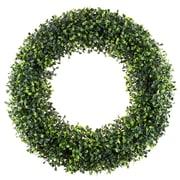 "Pure Garden Artificial Boxwood Wreath 19.5"" Green (M150124)"