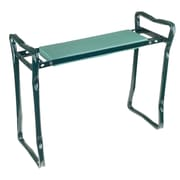 "Pure Garden 24""W Green Gardening Bench Steel Frame with Foam (M150063)"